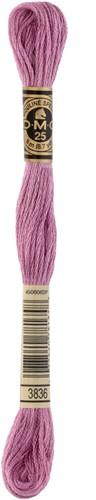 DMC 117MC Mouliné Spécial Embroidery Thread 8m 3836