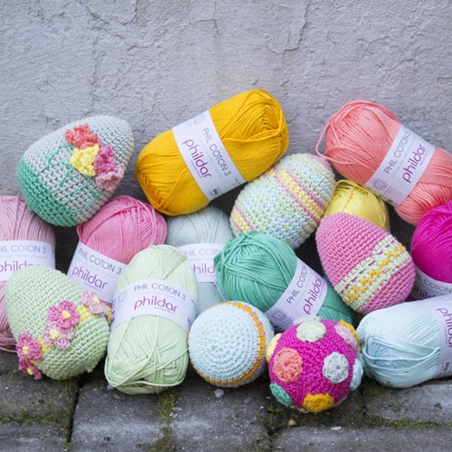 Crochet Pattern Easter Eggs