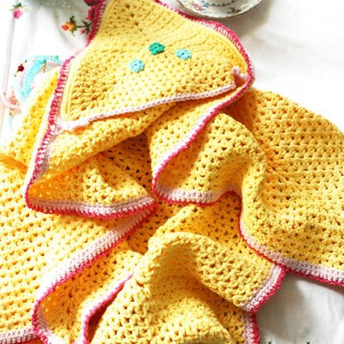 Crochet pattern wrap blanket