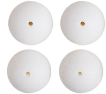 Silicone Beads 4 Pieces 29 White