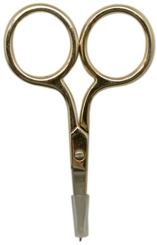 Yarn and Colors Tiny Scissors Gold