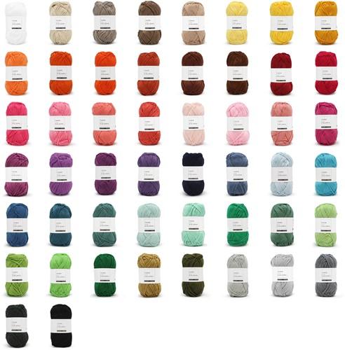 Yarn and Colors Must-have 50 Kleuren Pakket