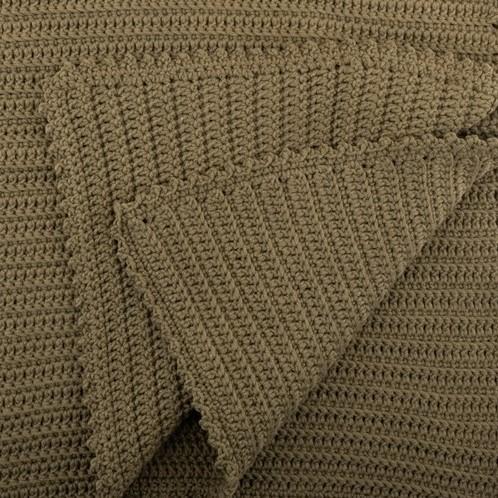 Yarn and Colors Oh Baby! Crochet Blanket Crochet Kit 091 Khaki