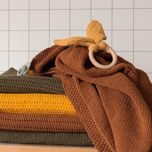 Yarn and Colors Oh Baby! Knit Blanket Knitting Kit 026 Satay