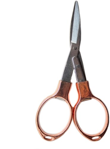 Yarn and Colors Foldable Scissors Rose Gold