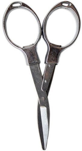 Yarn and Colors Foldable Scissors Silver