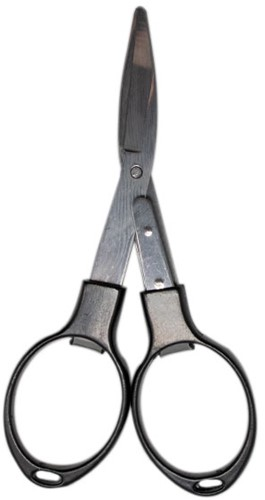 Yarn and Colors Foldable Scissors Black
