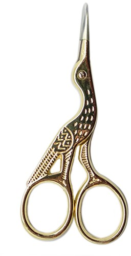 Yarn and Colors Bird Scissors Gold