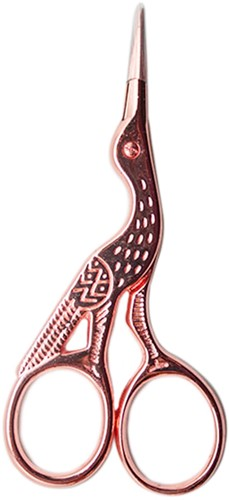 Yarn and Colors Bird Scissors Rose Gold