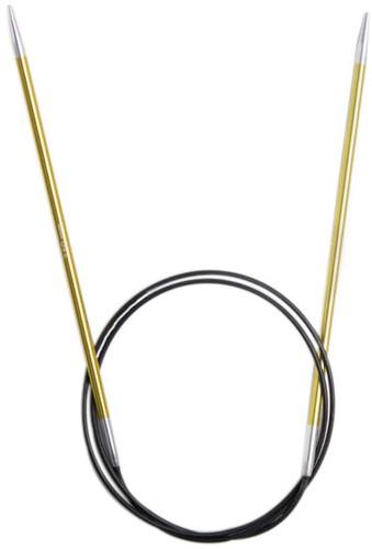 KnitPro Zing Fixed Circular Knitting Needles 80cm 3,5mm