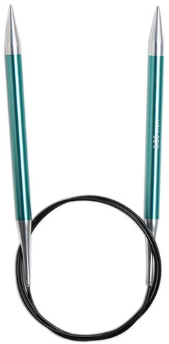 KnitPro Zing Fixed Circular Knitting Needles 80cm 8mm