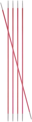 KnitPro Zing Double Pointed Needles 20cm 2mm