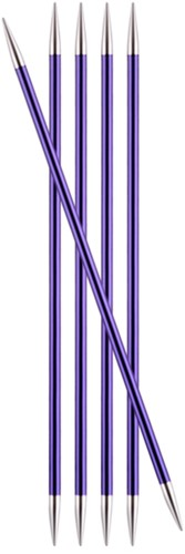 KnitPro Zing Double Pointed Needles 20cm 3,75mm