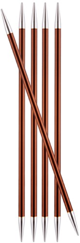 KnitPro Zing Double Pointed Needles 20cm 5,5mm