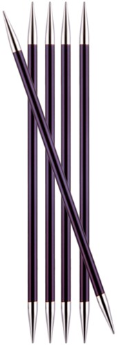 KnitPro Zing Double Pointed Needles 20cm 6mm