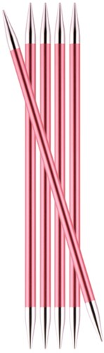 KnitPro Zing Double Pointed Needles 20cm 6,5mm