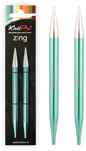 KnitPro Zing Interchangeable Circular Knitting Needles 3mm - 8mm