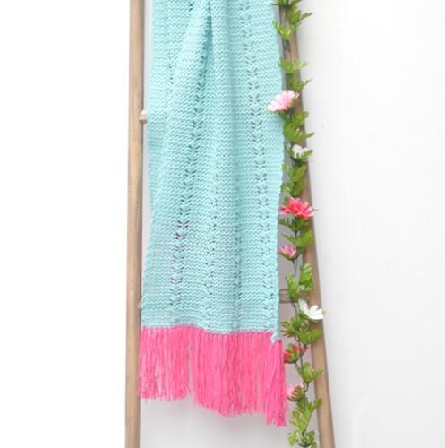 Crochet pattern Cool Wool summer scarf